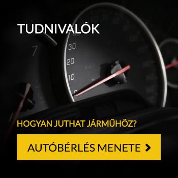 Tudnivalók az autókölcsönzésről - Autóbérlés menete
